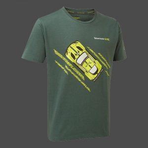 T-shirt homme ASTON MARTIN RACING CAR, coloris vert