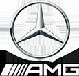 logo Mercedes AMC, voiture de prestige