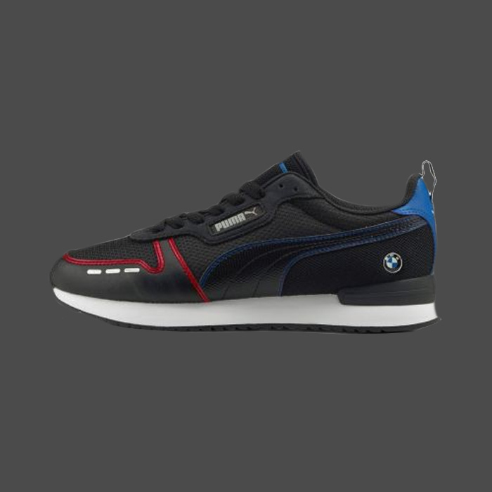 BMW Motorsport, chaussures noires pour homme