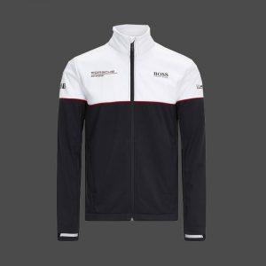 Veste Softshell homme Porsche Motorsport coloris noir et blanc